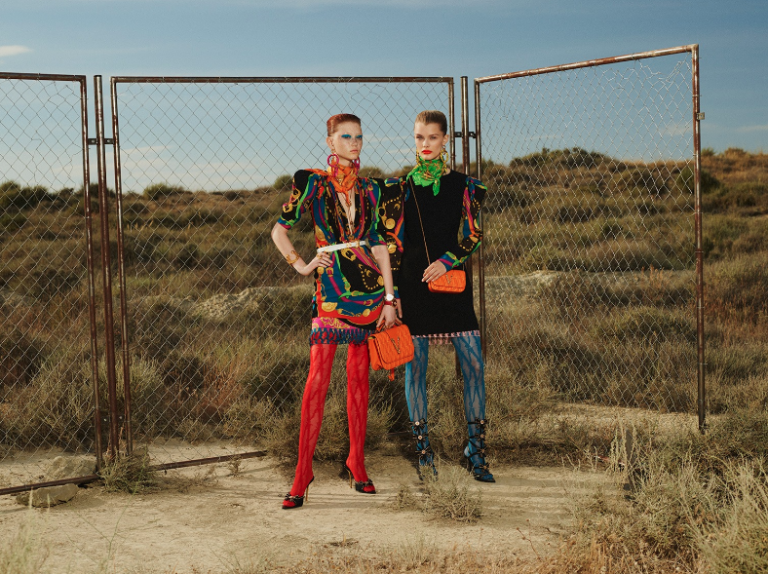 Indra Zabala Versace Cruise 2020 Collection by Robi Rodriguez