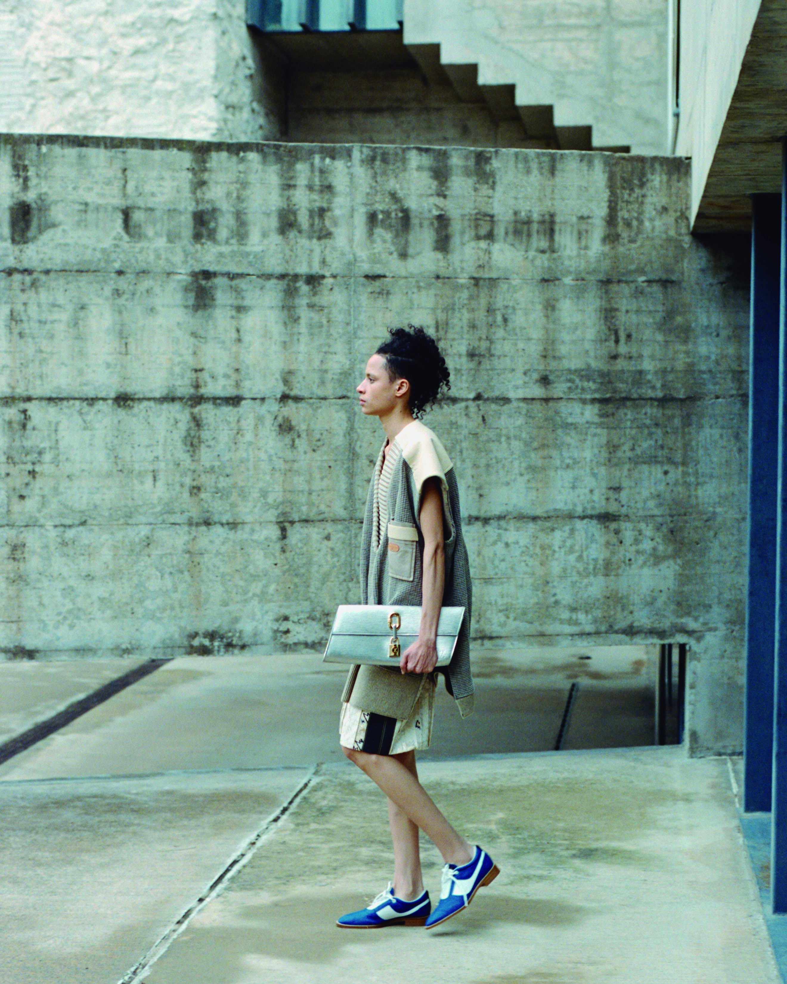 Indra Zabala Louis Vuitton Story for Odda Magazine